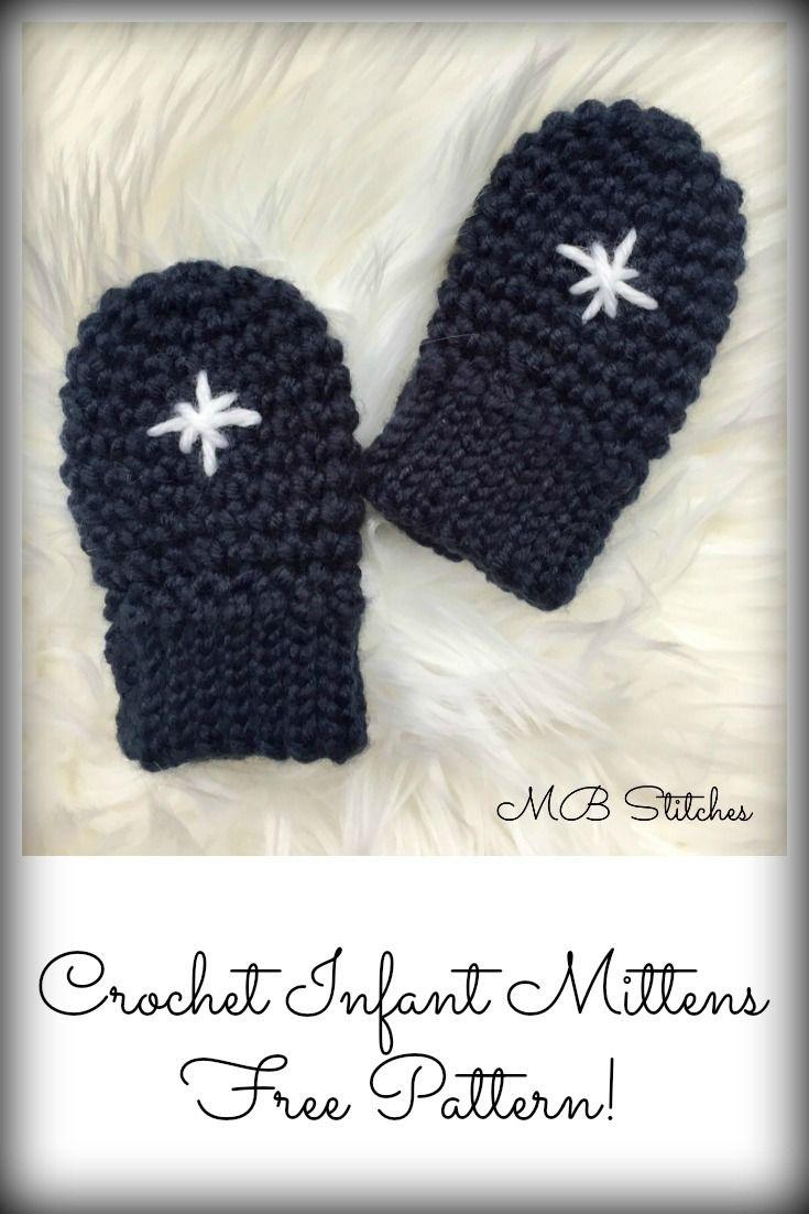 Best 25+ Crochet baby mittens ideas on Pinterest | Baby ...