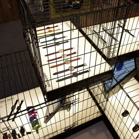 Dezeen Watch Pop up Store is now open as part of Clerkenwell Design Week in London