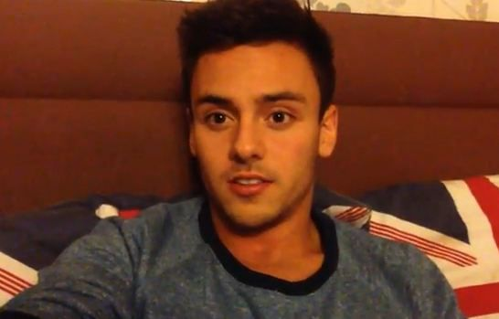 Click here to see British Olympic diver Tom Daley's coming-out speech.