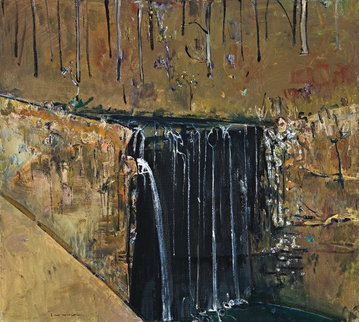Fred Williams (1927-1982) Coliban Falls II, 1979 oil on canvas 96.0 x 106.5 cm
