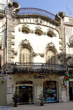 Casa Guasch Estadella. Modernisme, Vilafranca
