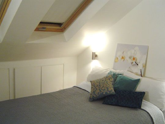 Small Space Solutions From An Attic Apartment Nice