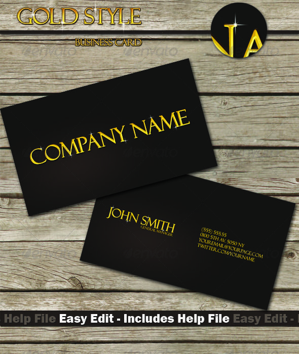 100 best print templates images on pinterest font logo print gold style business card reheart Choice Image
