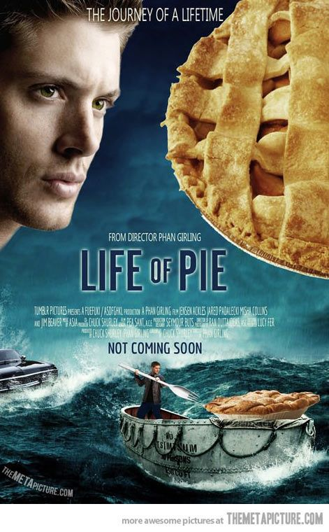 I work at a theatre and I actually heard a group of teens say 'I cant wait to see this movie! I love pie!' The saddest thing was the person who said it was serious...
