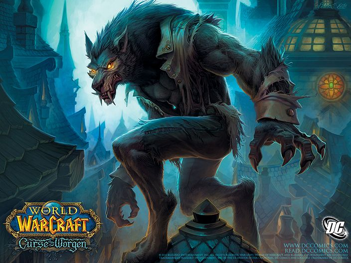 Werewolf Theory | Lore, Mythology, History, Trials, Literature, Movies, Music, Video Games, and more: Games: World of Warcraft and Werewolves