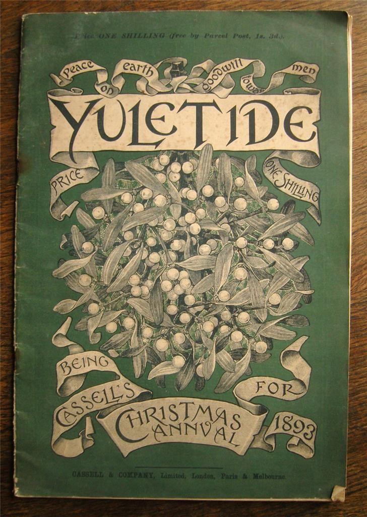 Yuletide mistletoe