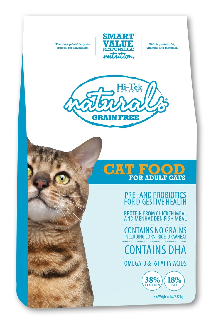 Hi-Tek also has cat food! This one is brand new