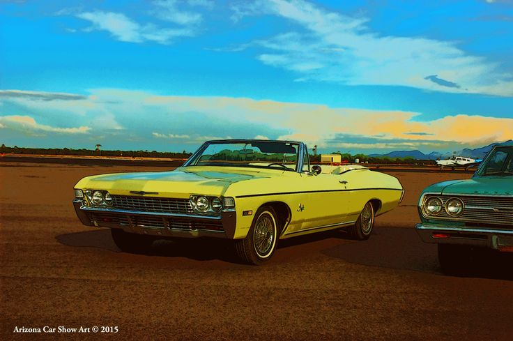 Impala Bobs and Falcon Warbirds Cruise In 10/17/2015