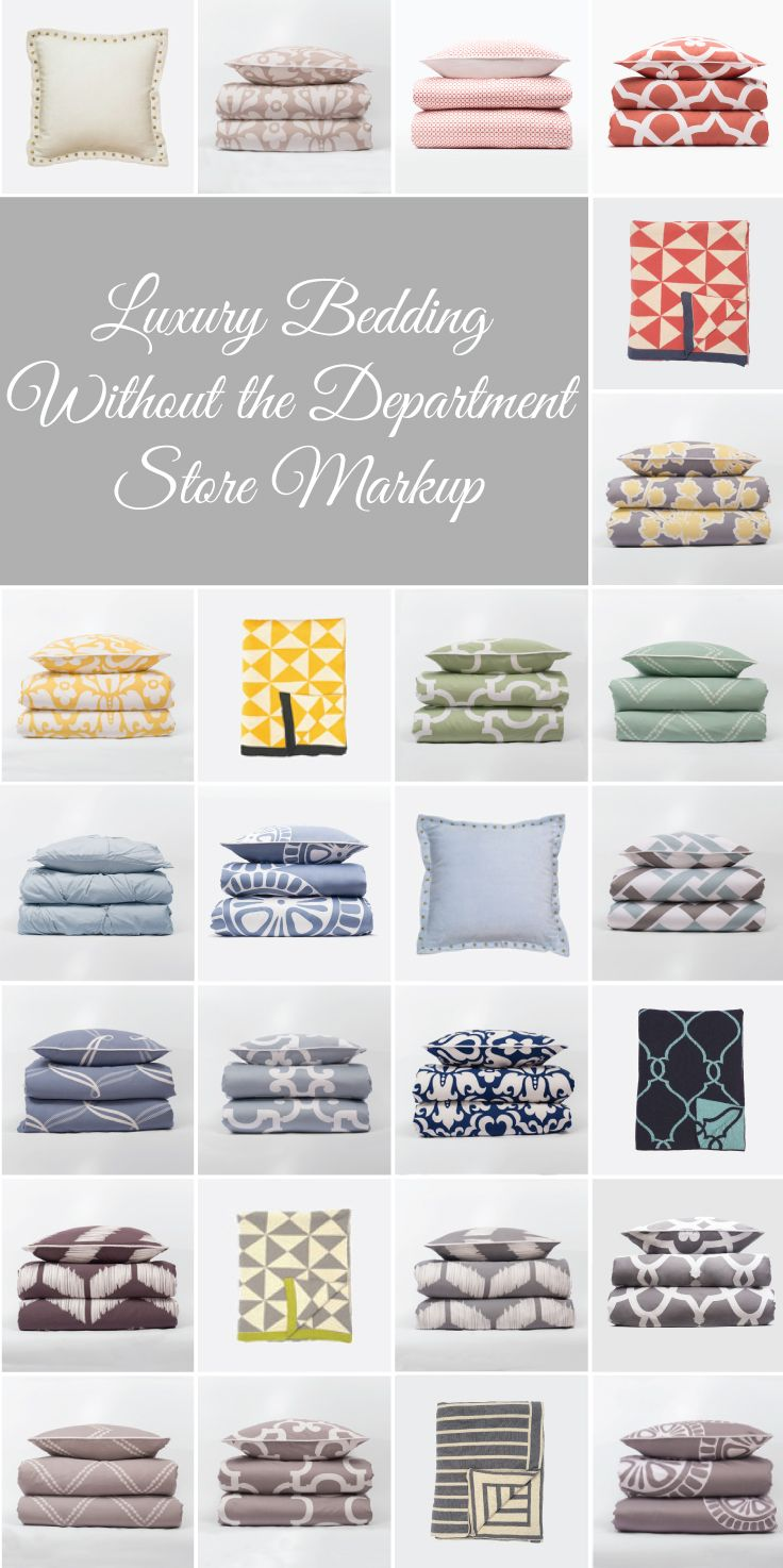 From luxury sheets to designer bedding and colorfully patterned duvets, find…