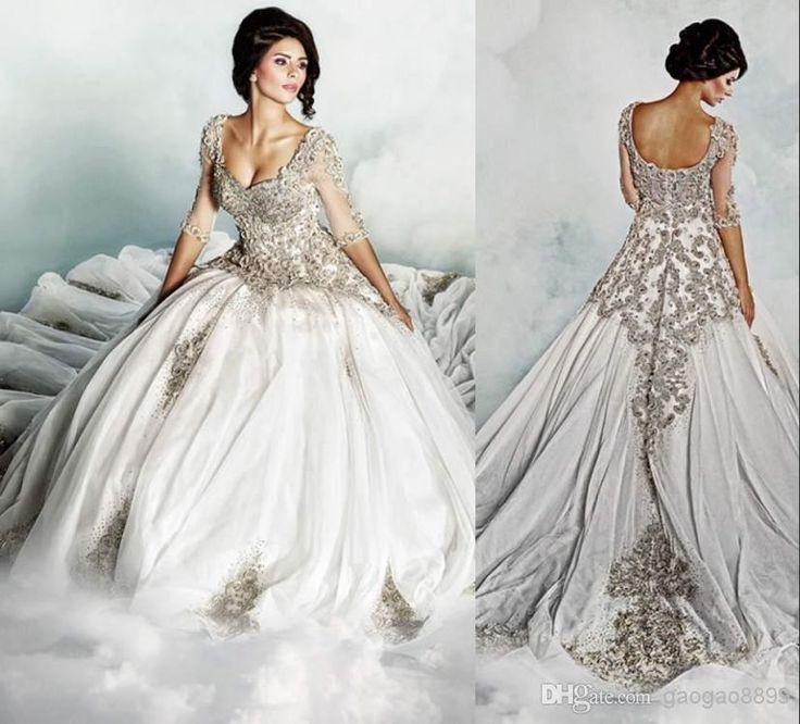 Wholesale Sheer Wedding Dresses Buy Dar Sara 2014 New Luxury Backless Weddi