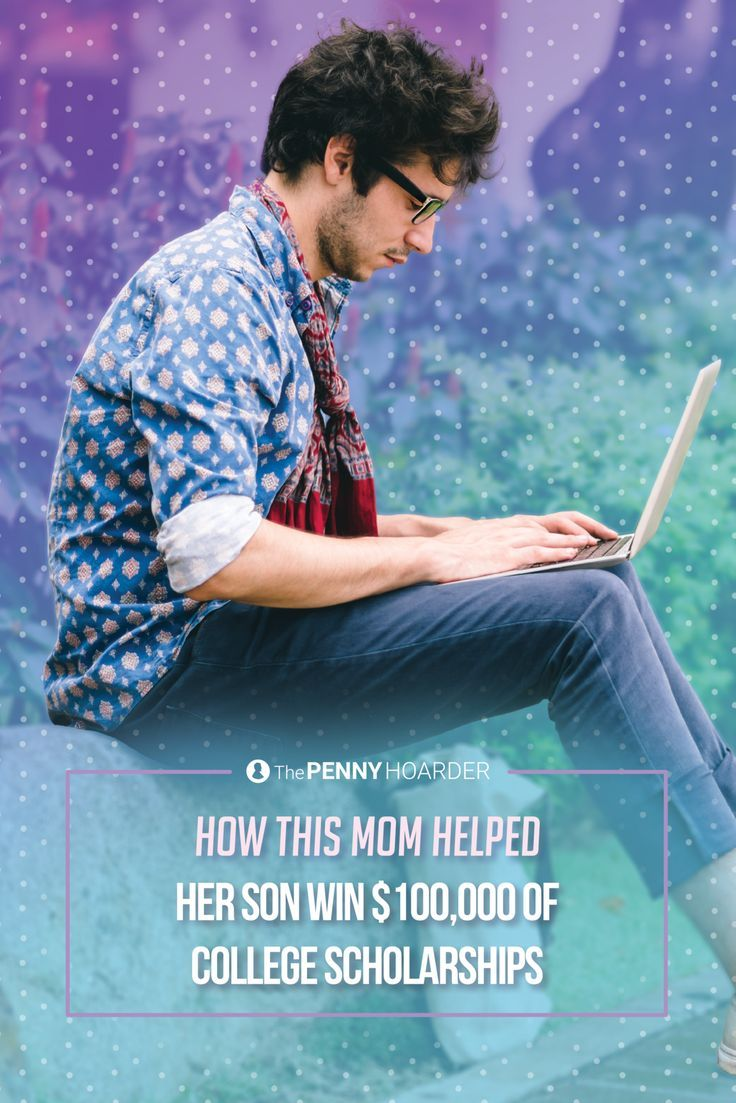 Wondering how to get a scholarship? Worried about paying for your or your child's education? Here are eight smart strategies this mom used to help her son win $100K in college scholarships.