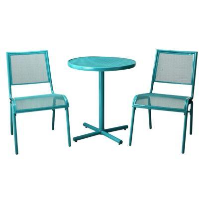 cute turquoise patio set Room Essentials™ LaSalle 3 Piece