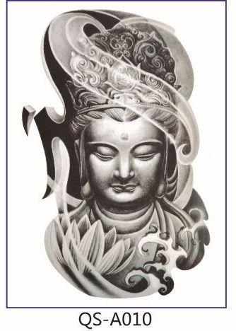 21*15cm tattoo stickers 65models waterproof female beauty original simulation retro flower owl wolf totem Buddha big arms paint
