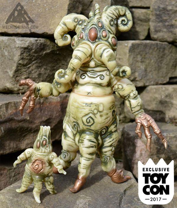Doktor A. reveals new 'Mandrakes' sofubi for ToyCon UK!