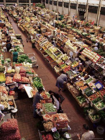 Lisbon Market, Mercado Da Ribeira, Lisbon, Portugal. Photo: Yadid Levy
