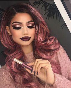 Love this look by @makeupbyalinna 💖💖💖