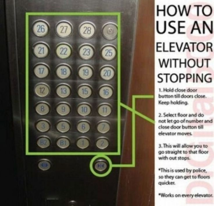How To Take Control Of The Elevator!