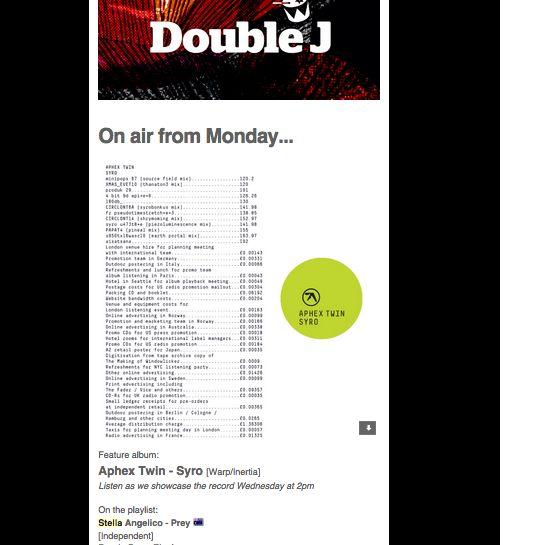 Double J Playlist