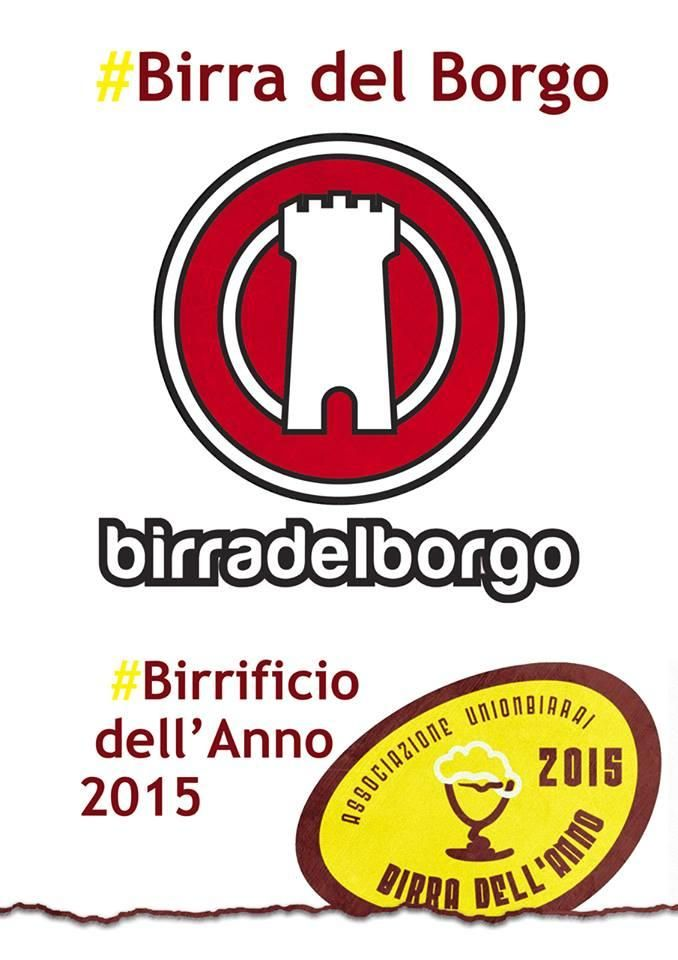 """Birra del Borgo è il Birrificio dell'Anno 2015. Durante l'evento internazionale dedicato ai birrifici indipendenti Beer Attraction di Rimini si è svolta la premiazione di """"Birra dell'Anno 2015"""", l'importante concorso di Unionbirrai che premia le migliori birre artigianali italiane"""
