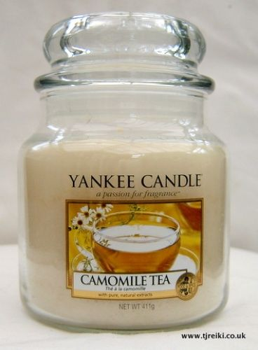 Yankee Candle Camomile Tea Housewarmer Jar!! Never have too many Yankee candles!