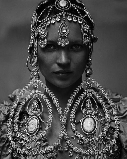 Kate Moss para Vogue India. #inspiracion #iconos #isadora