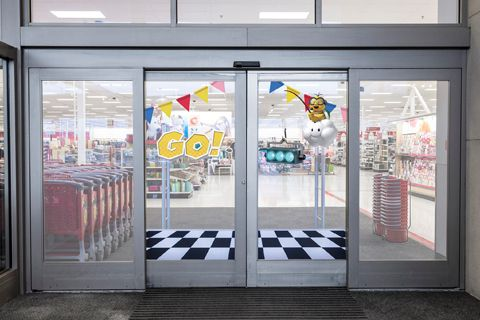 Target Encourages Store-Wide Mayhem With Mario Kart Shopping Carts    In what seems like a great cross-promotion for the Nintendo Switch, but which stands a decent chance of ending in utter bedlam at hundreds of Target stores nationwide, the retailer has decided to dres   https://consumerist.com/2017/04/21/target-encourages-store-wide-mayhem-with-mario-kart-shopping-carts/