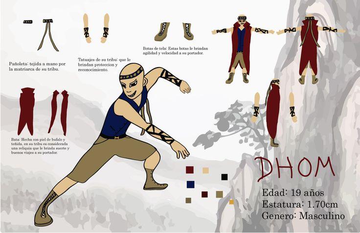 Concept Art de personaje, herramienta Adobe Illustrator.