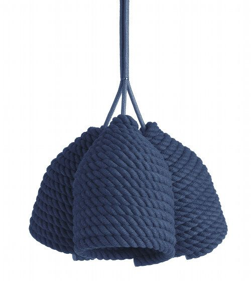Create this Acorn lamp by wrapping cotton rope around a bottle. #diy #lightingdesign #lighting