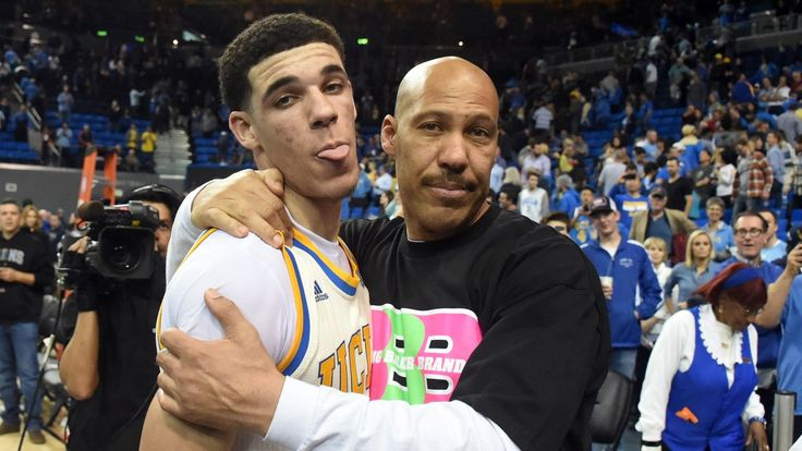 UCLA star Lonzo Ball is a likely top-two pick in June's NBA draft, but his father has long been dreaming and talking much bigger than that.