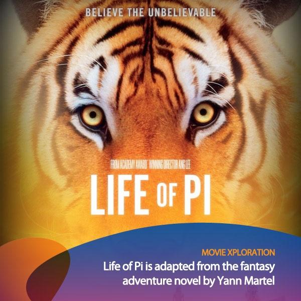 Ini film yang seru buat kalian tonton weekend ini guys! Life of Pi adalah sebuah film petualangan fantasi dari seorang cowok yang selamat dari kecelakaan di laut dan mengalami petualangan yang epic sekali.    *as posted on XL Rame