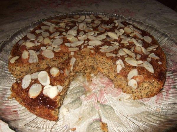 Лимонно-миндальный кекс с маком. Соответствуют требованиям БГБК и Палео диеты.