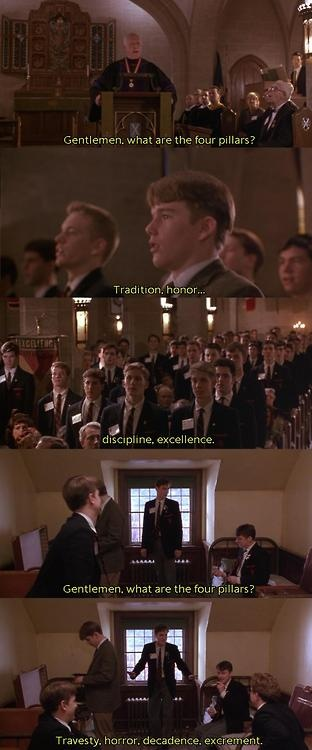 carpe diem in dead poets society a film by peter weir Soundtracks of peter weir films music is one of the most important aspects of peter weir's films it is very difficult to walk away from fearless or dead poets society without humming the music that was playing during the end credits.