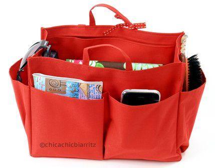 Organizador de bolsos organizador para bolsas negro - Organizador de carteras ...