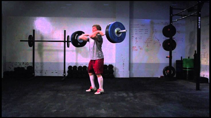 a slow motion demo of the clean+jerk. the bar floating previous to the catch is amazing. now go grab a bar.