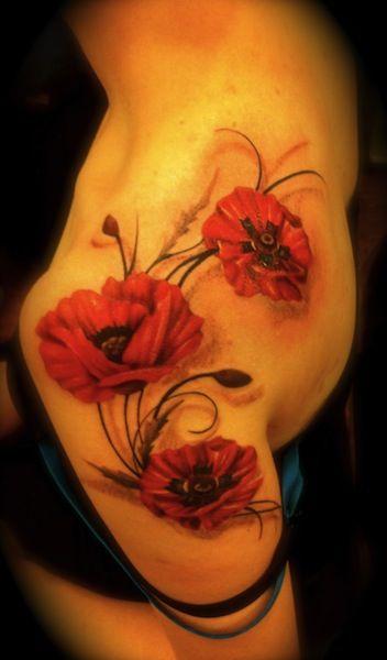 46 best tattoos images on pinterest poppy flower tattoos poppies flower tattoos on shoulder poppy by maggie shields shoulder flower tattoos mightylinksfo
