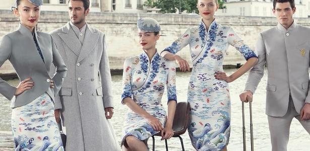 Viagem fashion! Companhia aérea chinesa terá uniforme de alta-costura