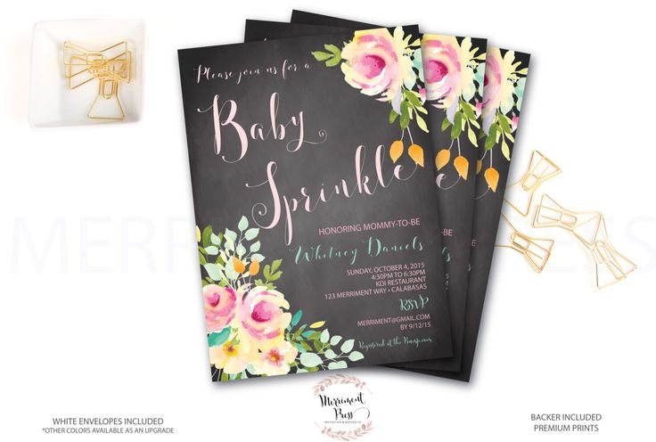 Baby Sprinkle Invitation // Chalkboard //Roses //Peonies // Peony// Mint // Baby Sprinkle Invitation // Pink // Yellow// VENICE COLLECTION by MerrimentPress on Etsy https://www.etsy.com/listing/266875308/baby-sprinkle-invitation-chalkboard