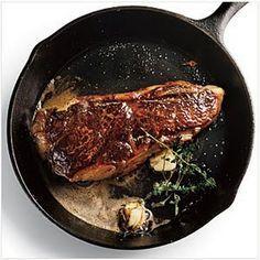 Pan Seared NY Strip Steak