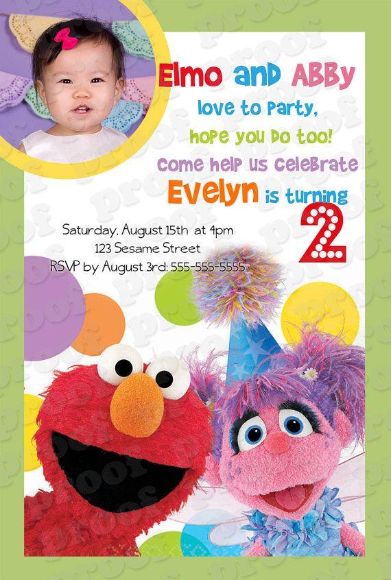 Hey, I found this really awesome Etsy listing at https://www.etsy.com/listing/156252970/sesame-street-birthday-invitation