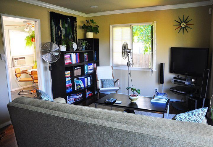 See resource list for shopping search terms House Tour: Scott's Silver Lake Bachelor Pad