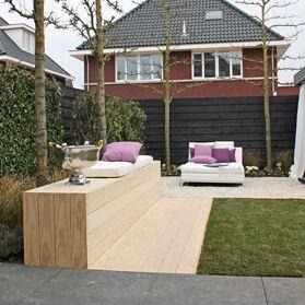 Luxe lounge tuin eigen huis tuin tuin idee n for Eigen huis en tuin logo