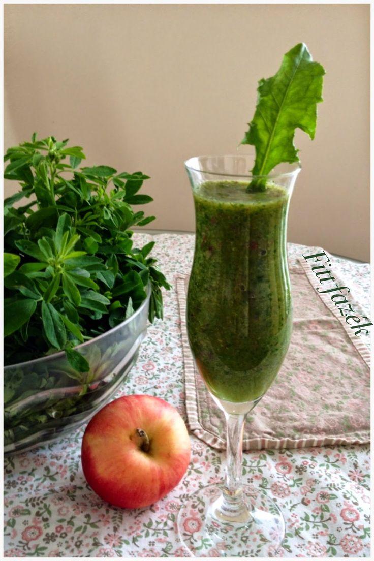 Zöld turmix, az élet elixirje.
