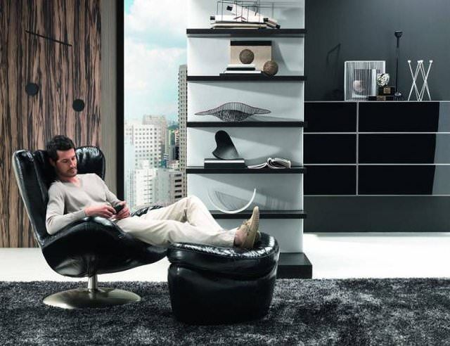 Natuzzi Leather Sound Chair   Lifestylerstore    Http://www.lifestylerstore.com · Black Living RoomsBeautiful ...