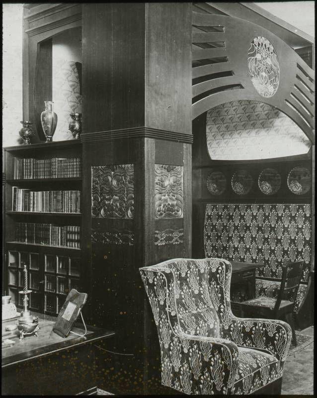 Herrenzimmer Entwurf Josef Maria Olbrich 1900 Bis 1950 Mak Jugendstil Herrenzimmer Sammlung