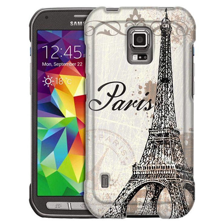 Samsung Galaxy S5 Active Vintage Paris Slim Case
