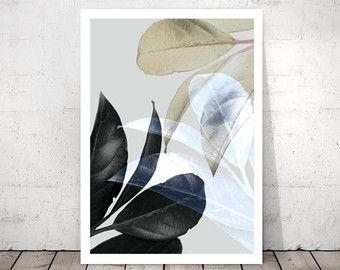 Plant Prints afdrukbare Wall Art botanische kunst door PrintsProject