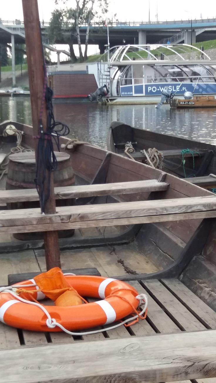 Port Czerniakowski z pokładu Taxi Wisła.
