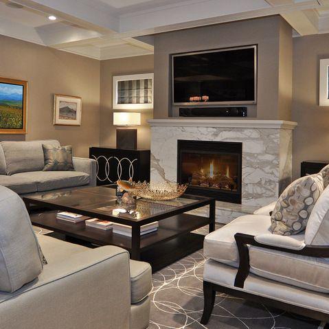 Fireplace Surround | Fireplace Remodel Inspiration | Living Room Designs, Living  Room Decor, Living Room Tv