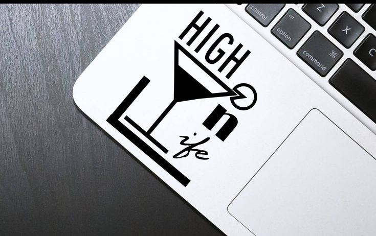 Decal, Sticker, Macbook decal, High on Life, Laptop decal, iphone decal, Macbook sticker, Laptop sticker, iphone sticker by SexyandMotivated on Etsy
