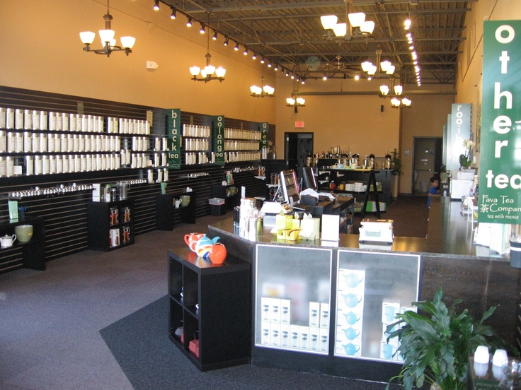 Fava Tea Co. Appleton, WI. My place of employment lucky